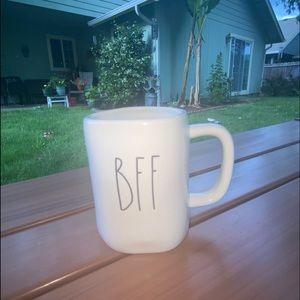 Rae Dunn BFF coffee mug cup best friend